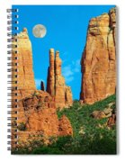 Cathedral Rock Moon Spiral Notebook