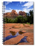 Cathedral Rock Reflections Spiral Notebook