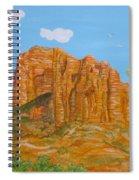 Cathedral Rock Sedona Az Right Spiral Notebook