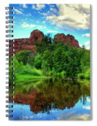 Cathedral Rocks At Red Rock Crossing Spiral Notebook