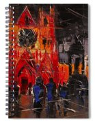 Cathedral Saint Jean-baptiste In Lyon Spiral Notebook