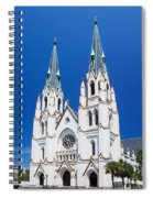 Cathedral, Savannah, Georgia Spiral Notebook