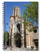 Cathedral St Sauveur - Aix En Provence Spiral Notebook