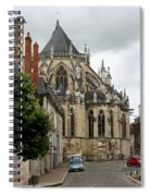 Cathedrale Saint - Cyr - Et - Sainte - Julitte De Nevers Spiral Notebook