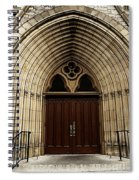 Catherdral Door's Spiral Notebook
