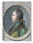 Catherine II Of Russia (1729-1796) Spiral Notebook
