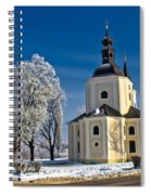 Catholic Church In Town Of Krizevci Spiral Notebook