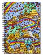 Catnip Dreamzzzs Spiral Notebook
