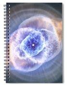 Cat's Eye Nebula Spiral Notebook