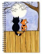 Cats Night Out Spiral Notebook