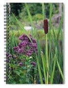 Cattail Pond II Spiral Notebook