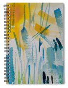 Cattail Sun Spiral Notebook
