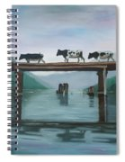 Cattle Crossing Spiral Notebook