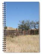 Cattle Pen Spiral Notebook