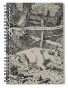 Cattle Resting Spiral Notebook