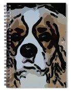 Cavalier Spaniel Spiral Notebook