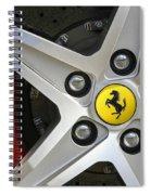 Cavallino Rampante Spiral Notebook