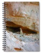 Cave Dwelling Where Pictograms Were Found Spiral Notebook