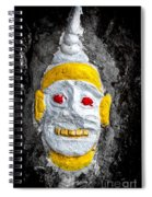 Cave Face 4 Spiral Notebook