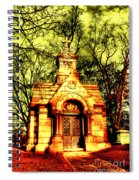 Cave Hill Haunting Spiral Notebook