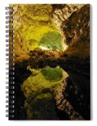 Cave On Lanzarote Spiral Notebook