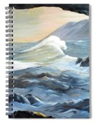Cave Wave By Chris Spiral Notebook