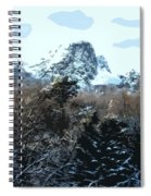 Cavehill In The Snow 2 Spiral Notebook