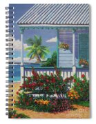 Cayman Porch Spiral Notebook