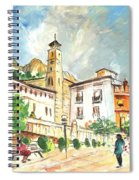 Cazorla 04 Spiral Notebook