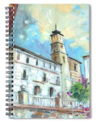 Cazorla 05 Spiral Notebook