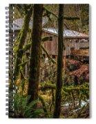 Cedar Creek Grist Mill 2 Spiral Notebook