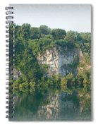 Cedar Hollow Quarry Panorama Spiral Notebook