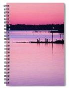 Cedar Island Pinks Spiral Notebook