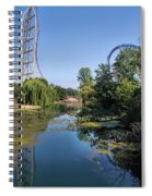 Cedar Point Ohio Spiral Notebook
