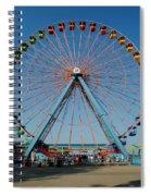 Cedar Point Sunday Spiral Notebook