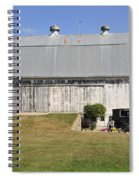 Cedar View Farm Barn Spiral Notebook