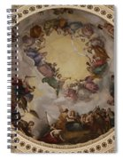 Ceiling Fresco - Cupola Capitol Washington Dc Spiral Notebook