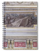 Ceiling Study Chateau De Chantilly Spiral Notebook