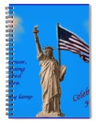 Celebrate Independence Spiral Notebook