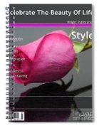 Celebrate The Beauty Of Life Spiral Notebook