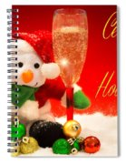 Celebrate The Holidays Spiral Notebook