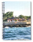 Celebrate The Waves Spiral Notebook
