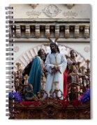 Celebrations On Palm Sunday In Cordoba Spiral Notebook
