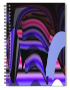 Celestial Cave Digital Art Spiral Notebook