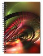 Celestial Equator Spiral Notebook