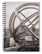 Celestial Globe And Sphere Beijing Spiral Notebook