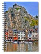 Celestial Gorge Spiral Notebook