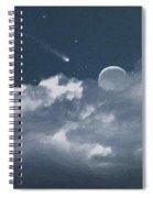 Celestial Night Spiral Notebook