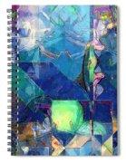 Celestial Sea Spiral Notebook