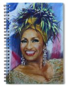 Celia Cruz Spiral Notebook